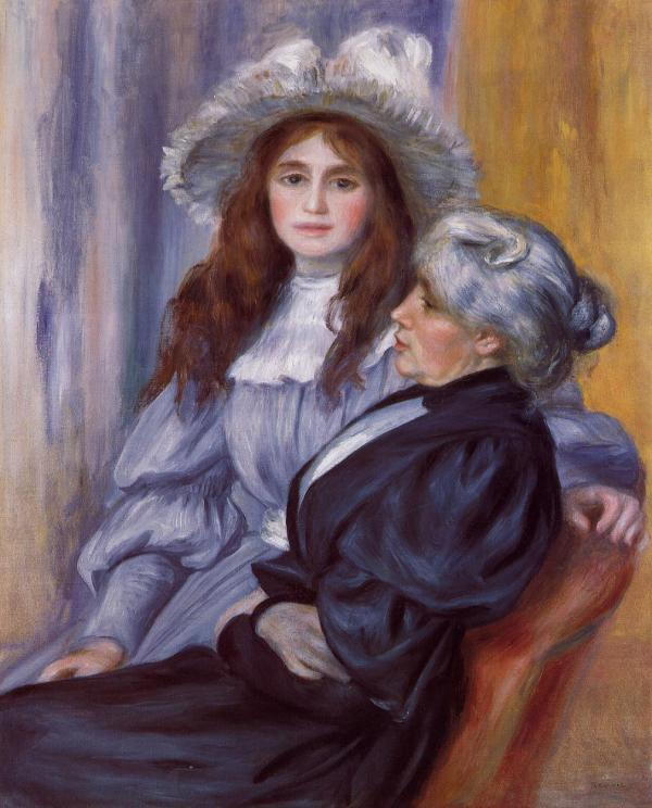 Julie Manet and Berthe Morisot