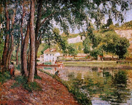 Pissarro, Road along the Loing Canal