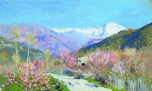 Spring in Italy - Isaac Levitan