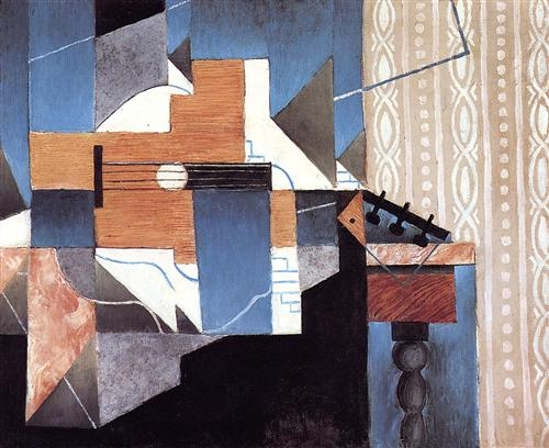 Guitar on the Table - Juan Gris
