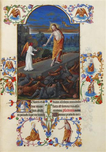 The Resurrection - Limbourg brothers