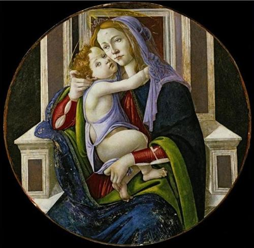Madonna and Child - Sandro Botticelli
