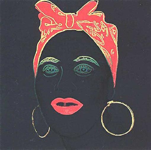 Mammy 1981  Andy Warhol  WikiArtorg
