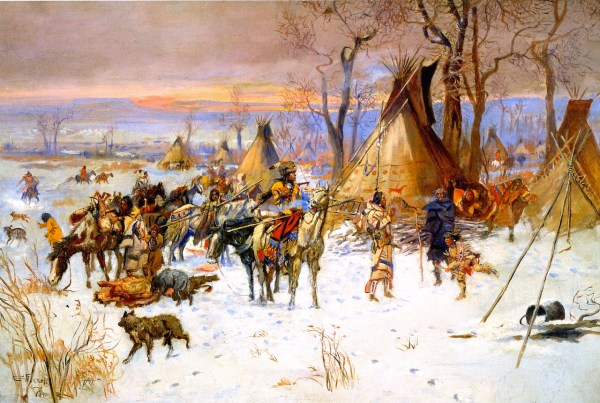 Charles Marion Russell Paintings
