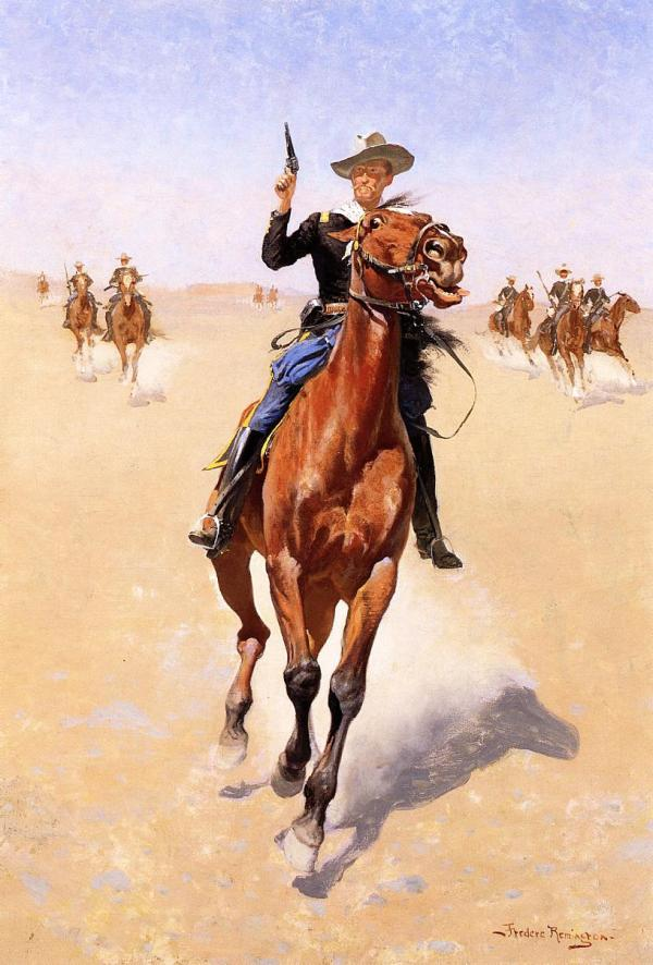 Trooper 1892 - Frederic Remington