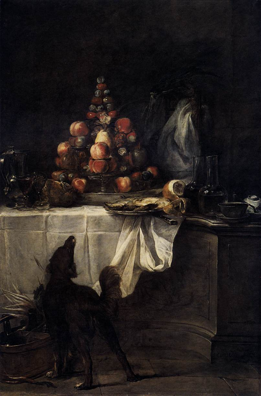 The Buffet 1728  JeanBaptisteSimeon Chardin  WikiArtorg