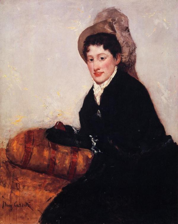 Portrait Of Madame X Dressed Matinee 1878 - Mary Cassatt