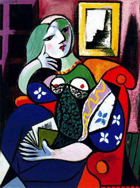 Woman with book - Picasso Pablo