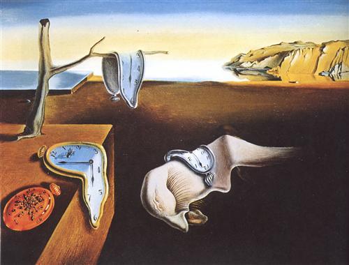 La persistencia de la memoria - Salvador Dalí