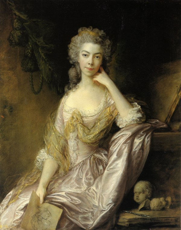 Portrait Of . Drummond - Thomas Gainsborough