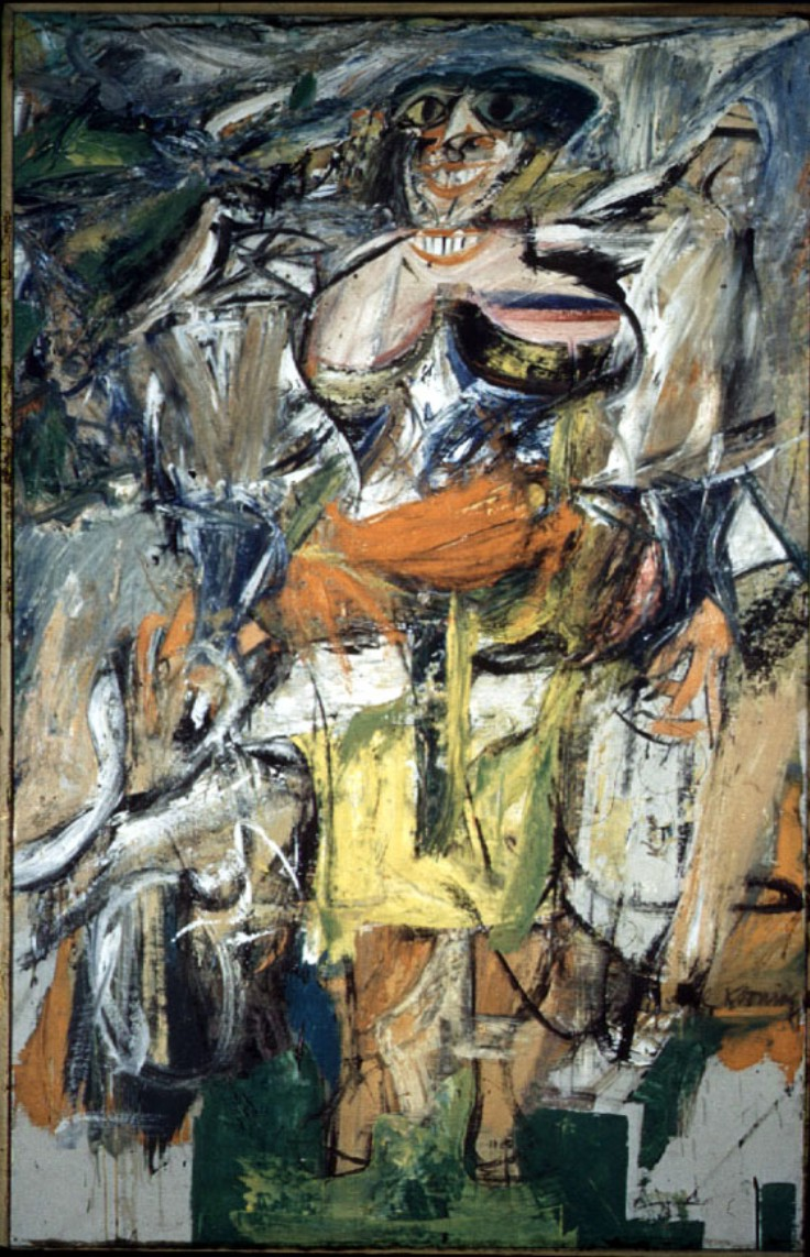 Woman and Bicycle  Willem de Kooning  WikiArtorg