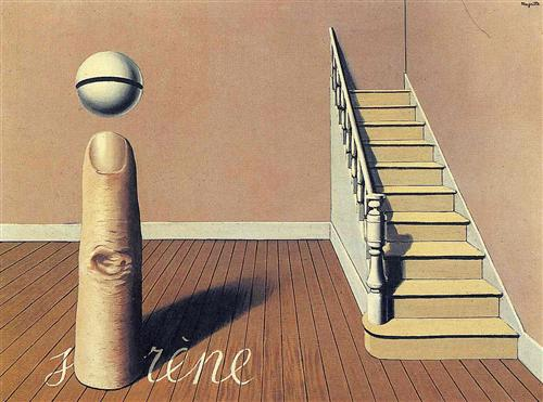 Rene Magritte - Forbidden literature (The use of the Word)