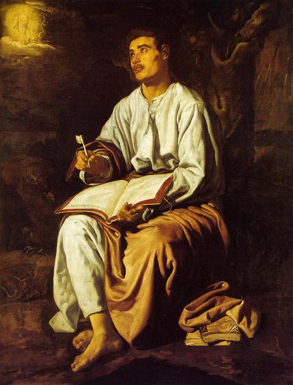 Saint John Patmos .1619 - Diego Velazquez