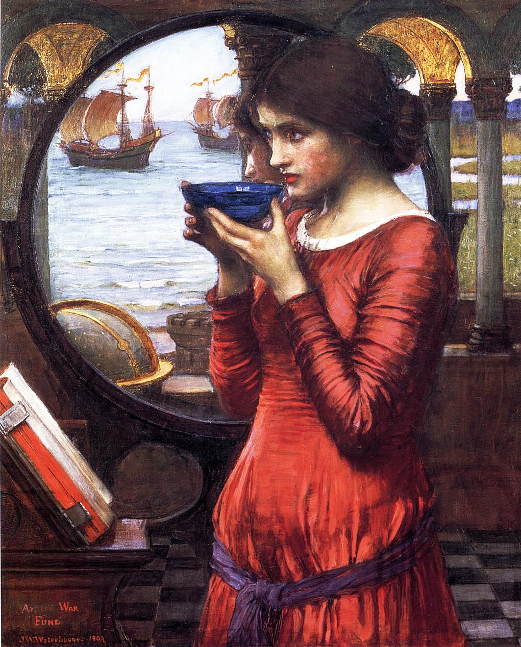 Image result for destiny by john william waterhouse