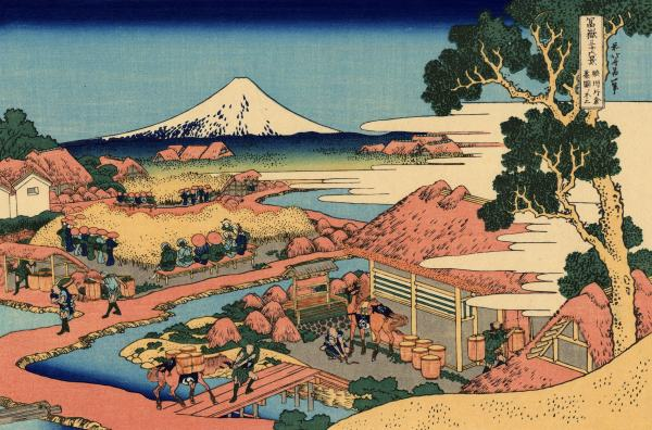 Hokusai 36 Views of Mount Fuji