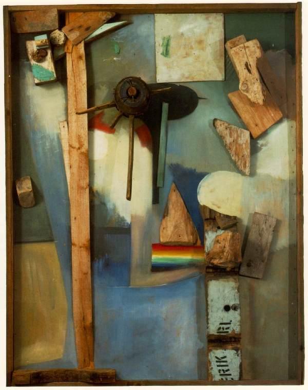 Rainbow .1939 - Kurt Schwitters