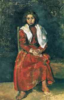 By the Barefoot Girl Pablo Picasso