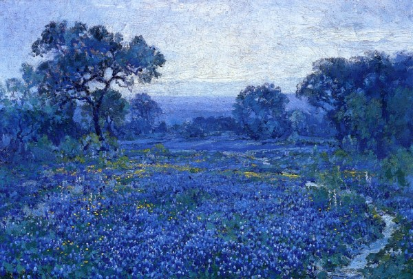 Famous Texas Bluebonnet Paintings