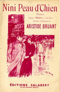 Aristide Bruant Nini Peau D'chien : aristide, bruant, d'chien, D'Chien, Theophile, Steinlen, WikiArt.org