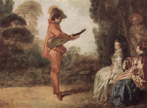 The Seducer - Antoine Watteau