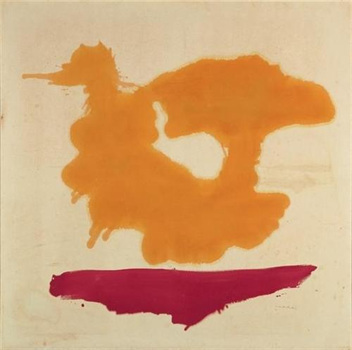 Only Orange - Helen Frankenthaler