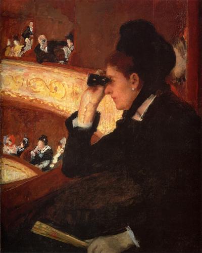 The Opera - Mary Cassatt