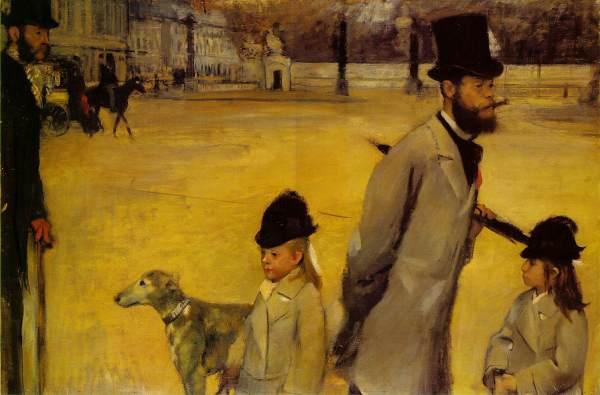 Place De La Concorde Edgar Degas