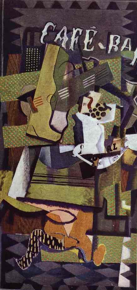Cafe Bar 1919  Georges Braque  WikiArtorg
