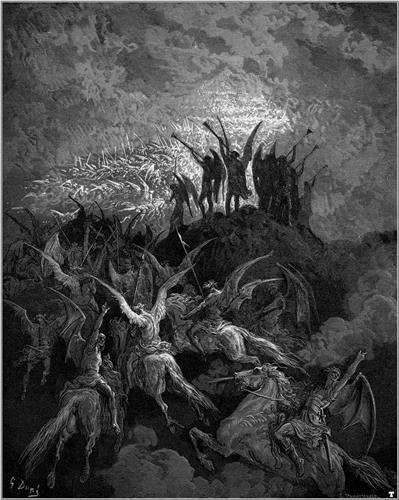La battaglia fra angeli e demoni