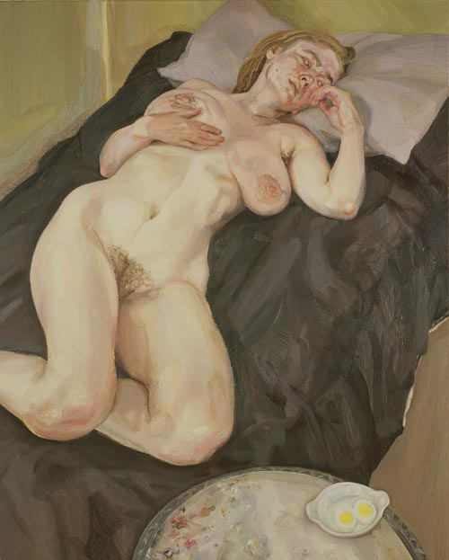 Naked Girl with Egg 1980  1981  Lucian Freud  WikiArtorg
