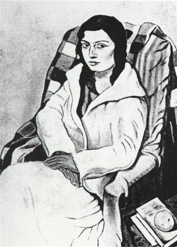 Portrait of My Sister (original State) - Salvador Dalí