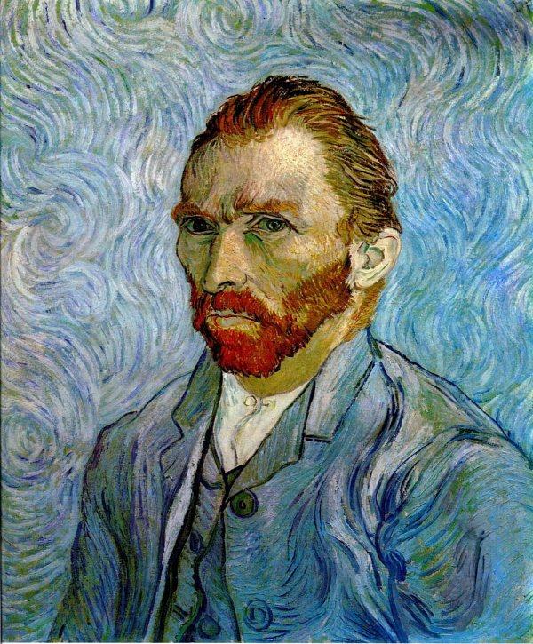 Portrait 1889 - Vincent Van Gogh