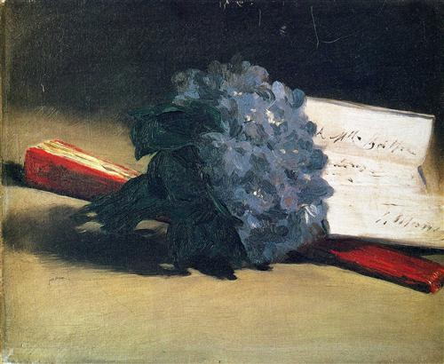 Bouquet of violets - Edouard Manet