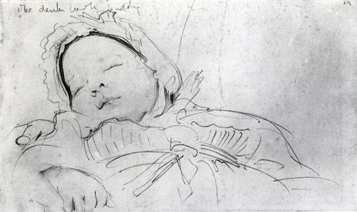 Jack Millet as a Baby - John Singer Sargent
