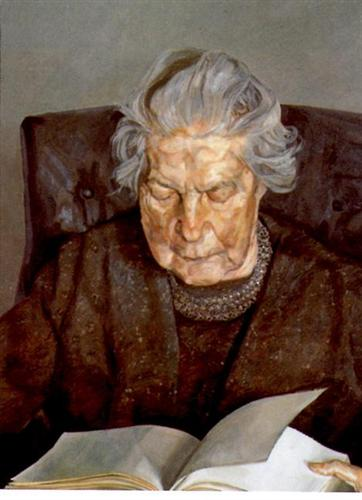 The Painter's Mother Reading, 1975