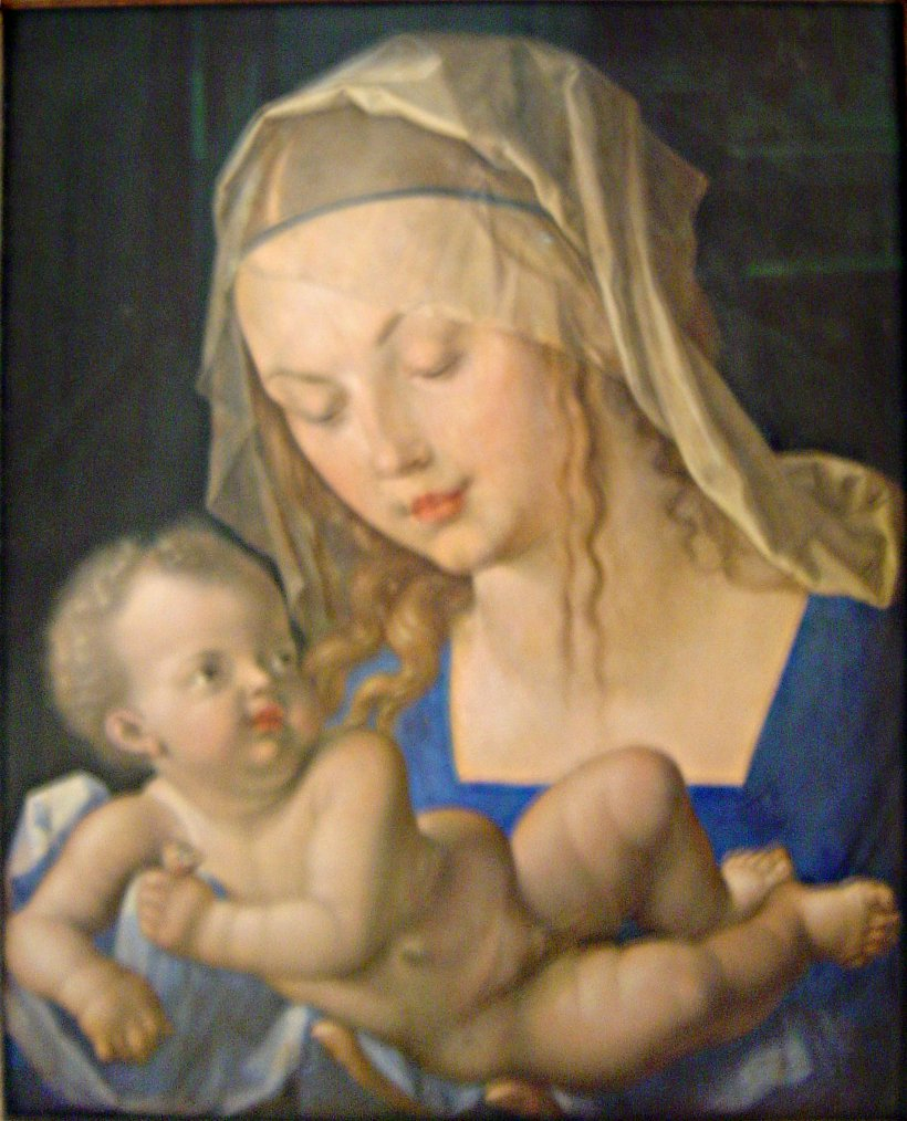 Mary And Child 1512 Albrecht Durer