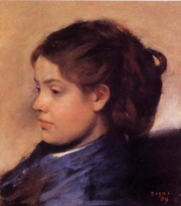 Emma Dobigny 1869 - Edgar Degas