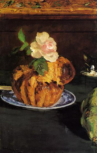 Still Life with Brioche, 1880 - Edouard Manet