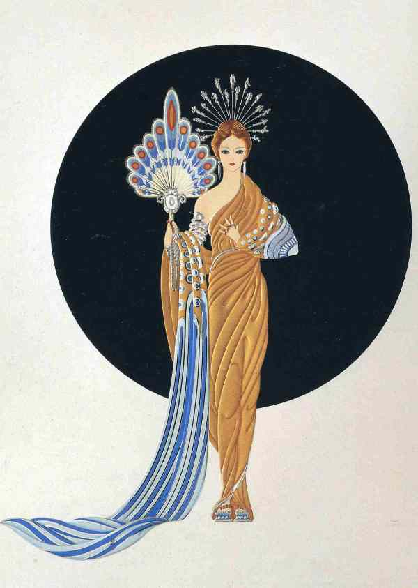 Fashion Art Deco Artist Erte