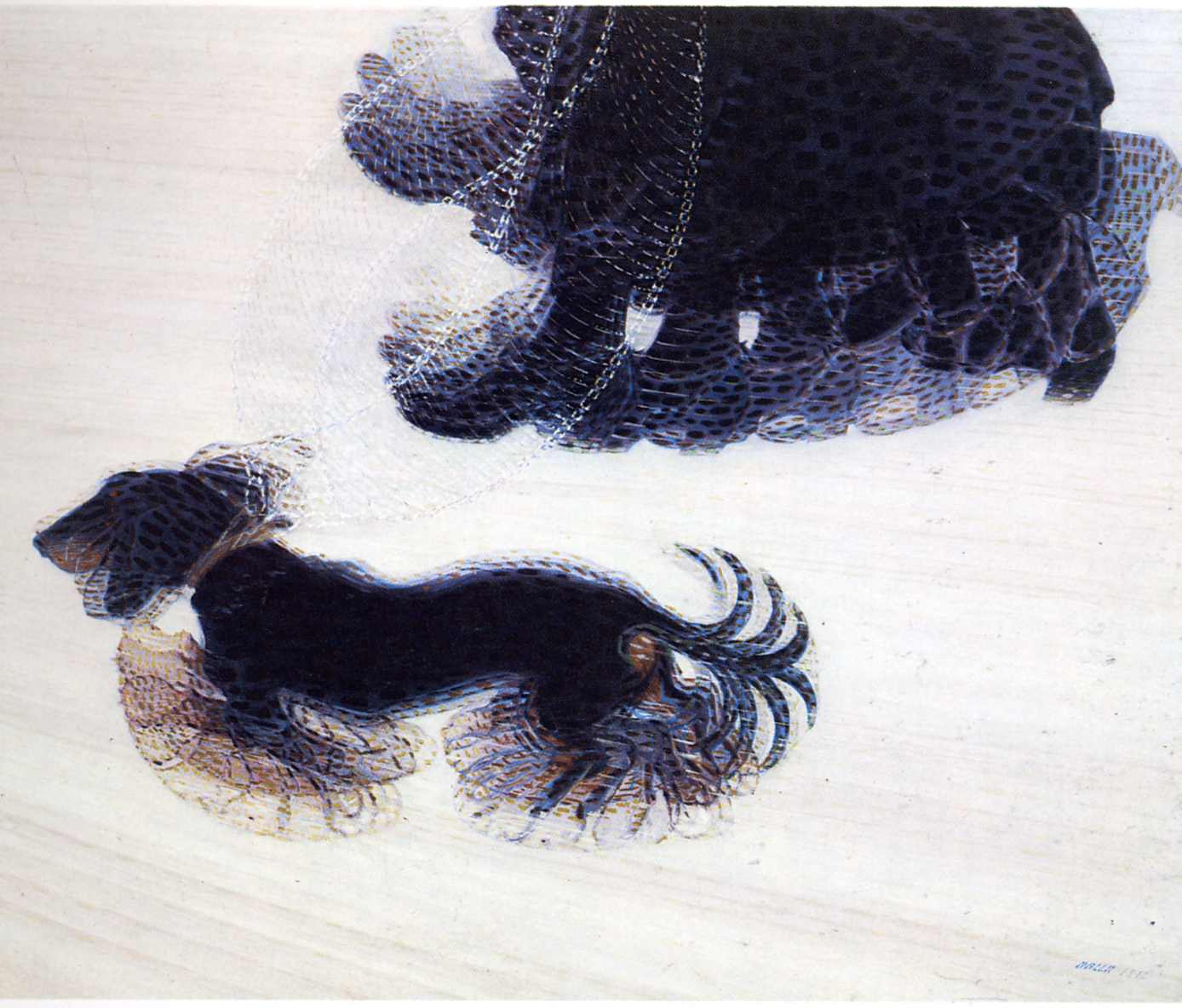 Dynamism of a Dog on a Leash — Giacomo Balla – Biblioklept