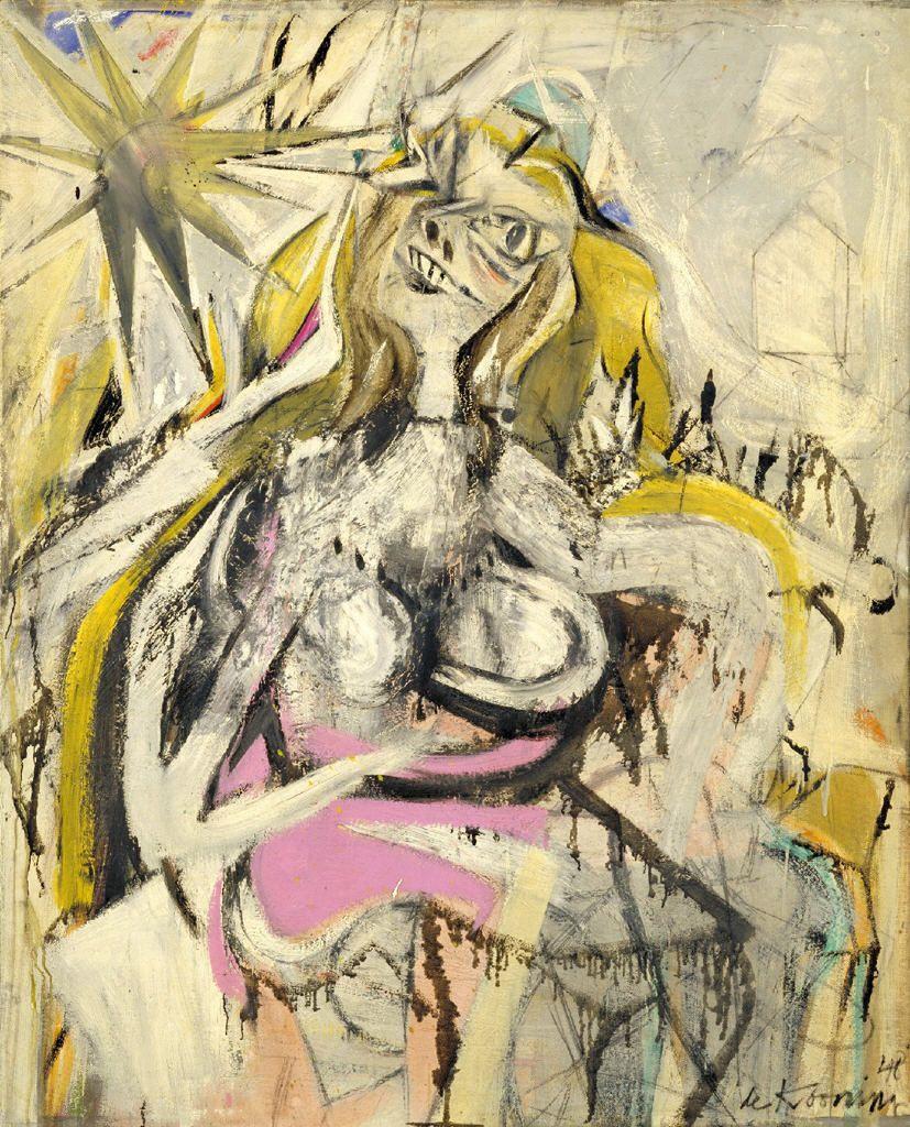 WomanVerso Untitled 1948  Willem de Kooning  WikiArtorg