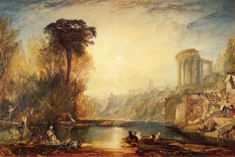 Landscape Composition Of Tivoli 1817 JMW Turner