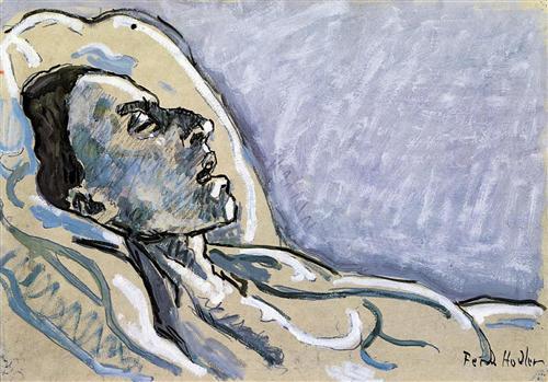 The Dying Valentine Gode-Darel - Ferdinand Hodler