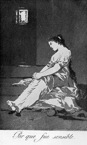 Por que fue sensible  - Francisco de Goya