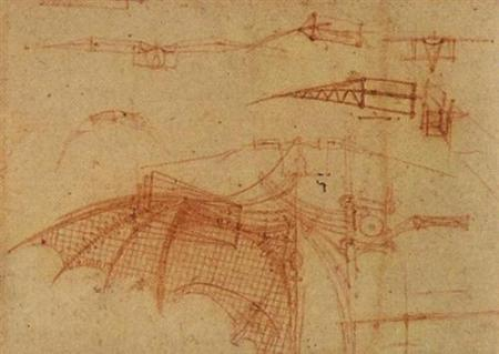 Design for a Flying Machine - Leonardo da Vinci