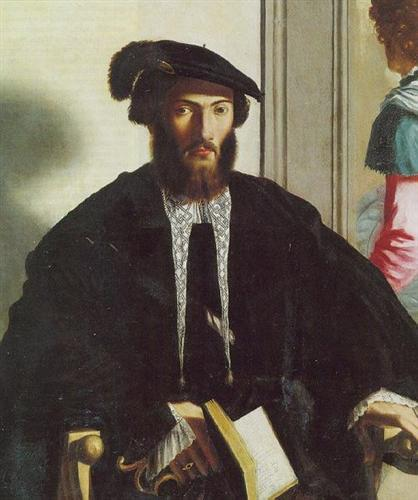 Portraitof gentleman G.B. Castaldi - Parmigianino