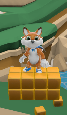 """""""Fur Suit"""" Lucky in Game"""