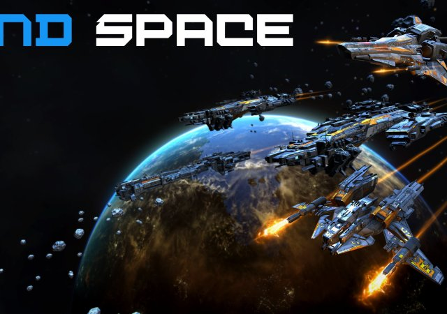 End space cover art