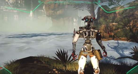 stormland another robot