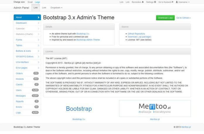 013-Meritoo – A Minimal Admin Theme